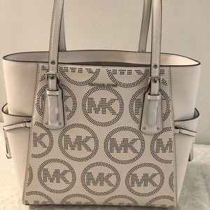 NWT Authentic Michael Kors MK Tote Bag